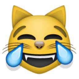 cat face  tears  joy emoji ufue