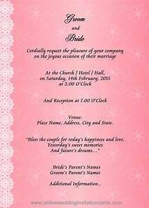 15 wedding cards design samples images wedding With example of wedding invitation card format