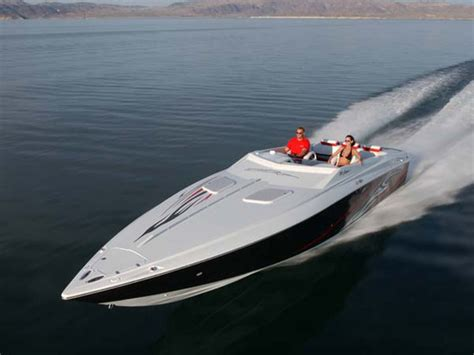Baja Boat Manufacturer by 2007 Baja 35 Outlaw Boat Review Top Speed