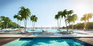 luxury house plans with pools the harbour miami a new luxury condo on the water