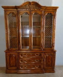 very nice hibriten china cabinet by bernhardt furniture co