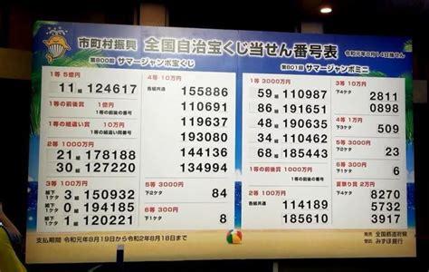 811 回 宝くじ 当選 番号