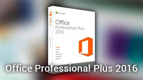 Office Professional Plus 2016 Full Activador En Español