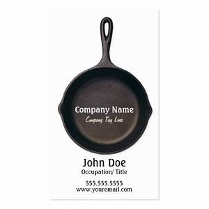 Personal Chef Business Card | Zazzle