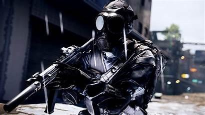 Battlefield Gun Gas Mask 4k Wallpapers Games