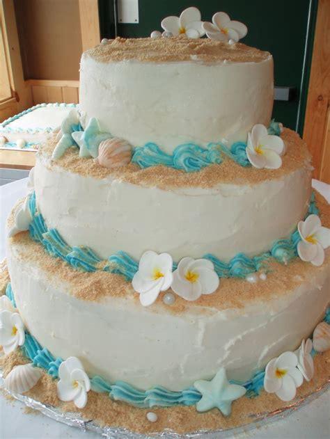 themed cakes beach wedding cake 3 tiered beach themed wedding cake graham cracker sand gum paste plumeria