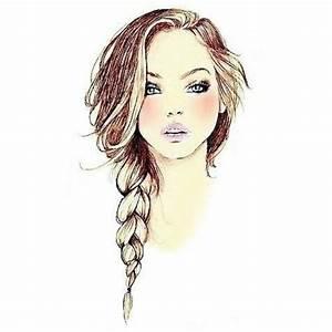 Hair Drawings Braid images