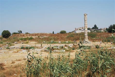 Temple Of Artemis At Ephesus Turkish Archaeological News