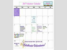 8+ Classroom Calendar Templates – Examples in PDF Sample
