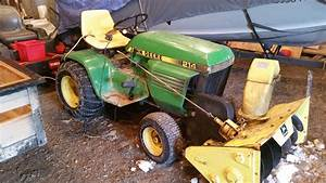 John Deere D140 Snow Blower Manual