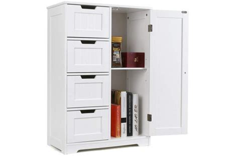 Top 10 Best Bathroom Storage Cabinets With Doors Reviews
