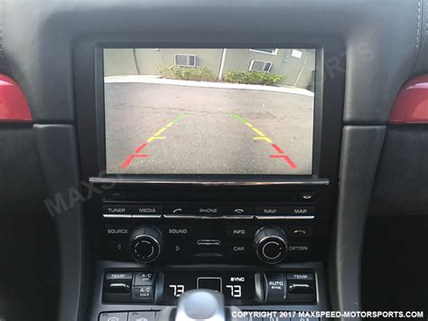 porsche backup camera kit  pcm  boxster cayman