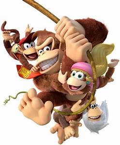 Donkey Kong Country Tropical Freeze Characters