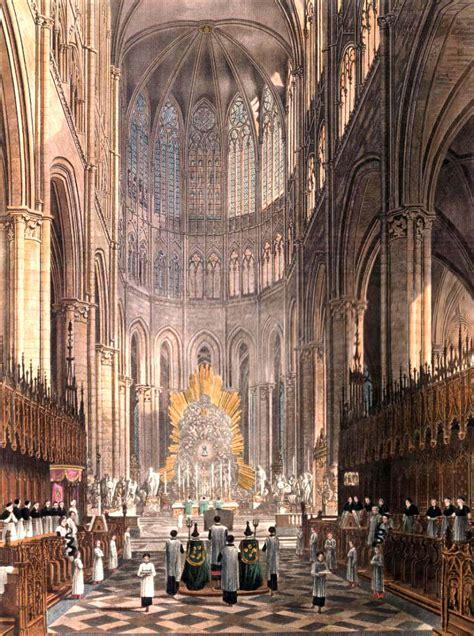 la sainte messe  la cathedrale damiens xixeme siecle