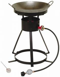 Portable Outdoor Cooker Propane Burner Camping Patio Gas ...