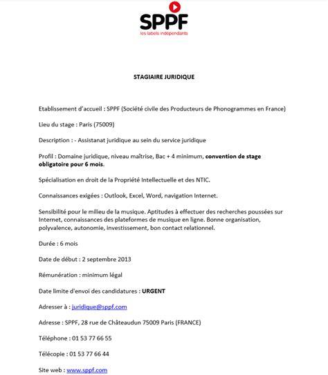 lettre de motivation stage cabinet avocat modele lettre de motivation stage ppi document