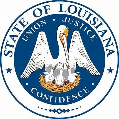 State Seal Louisiana Flag Flags Seals Gov
