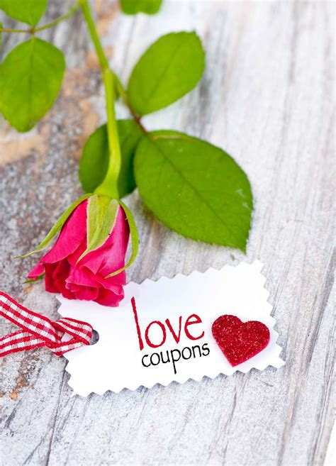 Romantic Coupon Book • Best Anniversary Gift Ideas