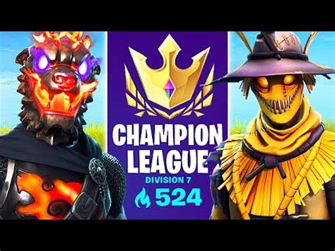 arena mode champion league pro fortnite player