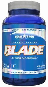 Blue Star Nutraceuticals Blade  U2013 Fat Burning With An Edge