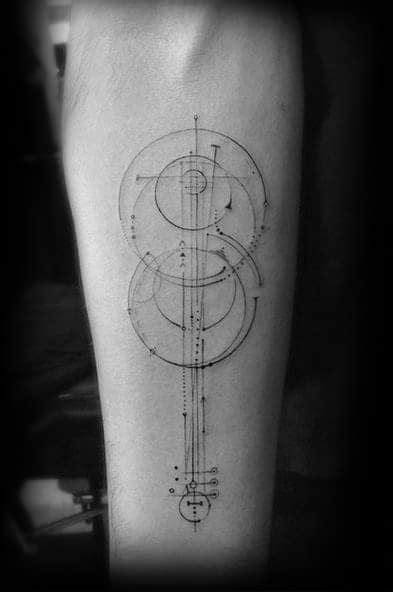50 Violin Tattoo Designs For Men - Music Instrument Ink Ideas