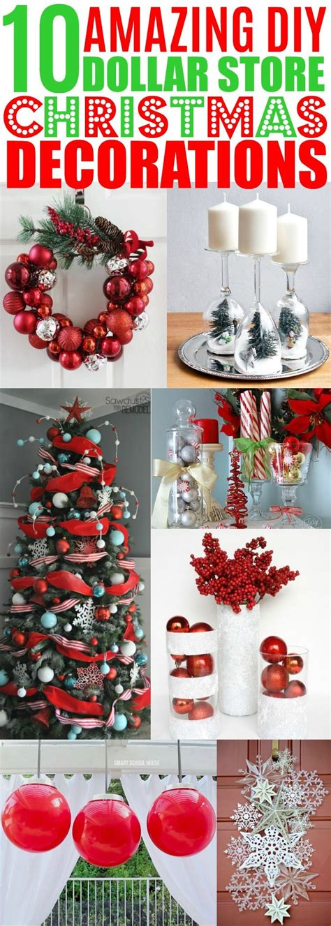 unique cheap christmas decorations ideas  pinterest