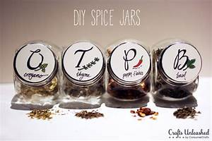 DIY Spice Rack with Free Printable Labels