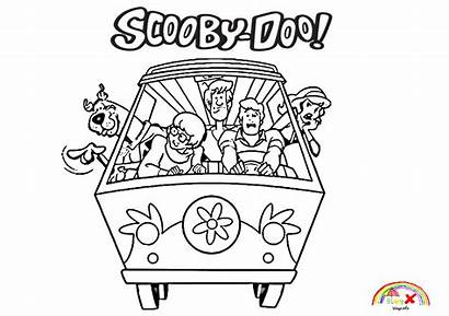 Mystery Scooby Doo Coloring Machine Info Blogx