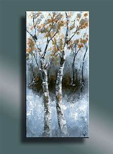 25 best ideas about birches on pinterest nature for What kind of paint to use on kitchen cabinets for birch tree canvas wall art