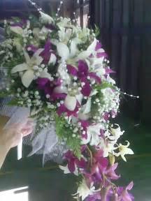 flower wedding bouquets hawaiian wedding flowers