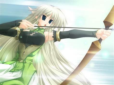 Anime Elfs Images Anime Elf Huntress Hd Wallpaper And