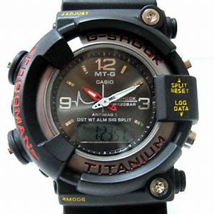 CASIO GSHOCK series DW 8200 FROGMAN MT G Dual Time Analog
