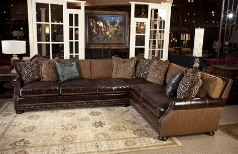 abbyson living charlotte dark brown sectional sofa