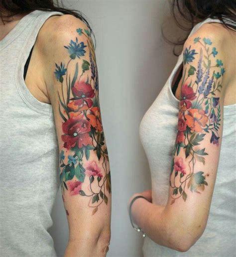 Best 25+ Feminine Sleeve Tattoos Ideas On Pinterest
