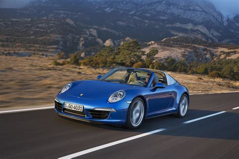 Porsche Reveals 911 Targa 4, Targa 4s For 2014 At Detroit