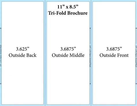 6 panel brochure template docs 3 panel brochure template docs calendar doc