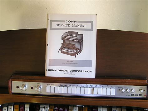 conn   manual solid state theatre organ  ext reverb