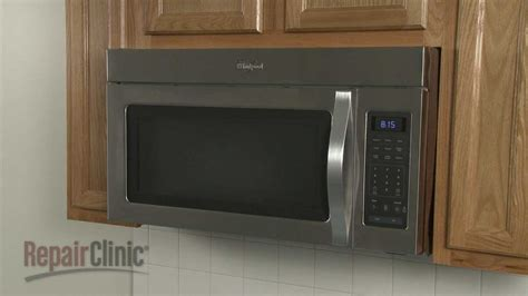 whirlpool microwave disassembly microwave repair