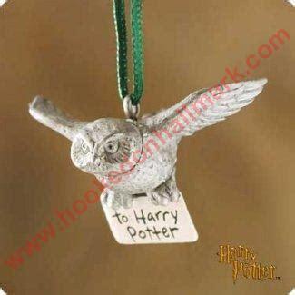 hedwig  owl harry potter hallmark ornament