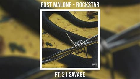 Rockstar Ft. 21 Savage (official Audio
