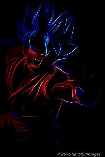 neon goku dragon ball dragon dragon ball