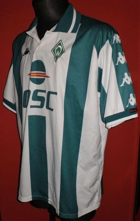 Jun 04, 2021 · with werder bremen headed to 2. Werder Bremen Local Camiseta de Fútbol 2000 - 2001 ...