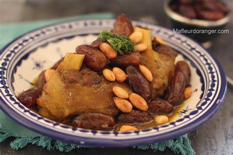 cuisine marocaine tajine souris d agneau aux dattes
