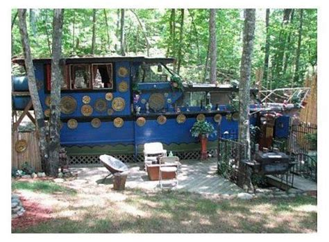 Old Boat Turned Into House by Tiny Homes Converted Houseboat Restored On Land Photos