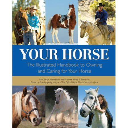 horse handbook caring owning illustrated