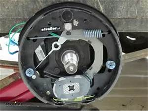 Dexter Nev-r-adjust Electric Trailer Brake Assembly