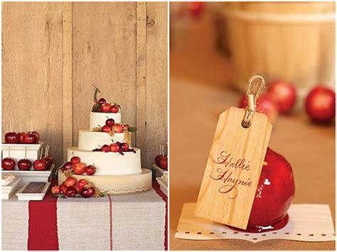Fall Apple Wedding Bravobride