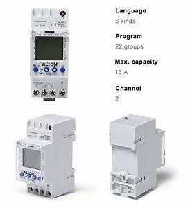 Alion Ahc811 110 Volt 220v Programmable Digital Timer