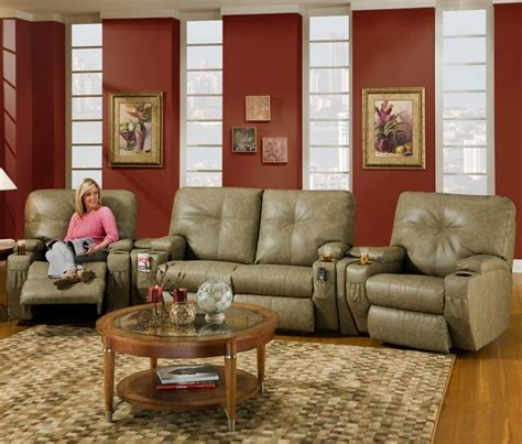 Theaters With Reclining Chairs In Ct by 4 Seat Reclining Home Theater Seating With Storage