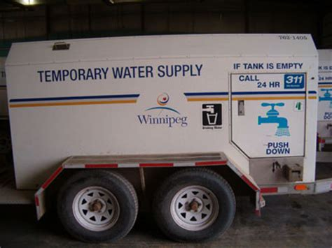 water service water water  waste city  winnipeg